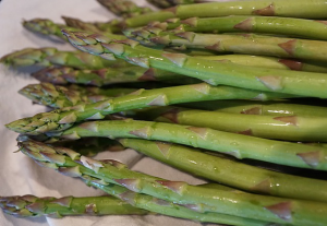 how to cook asparagus in pan