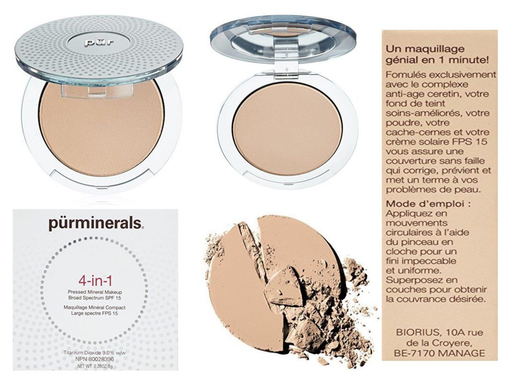 Pur Minerals 4-In-1 Pressed Mineral Makeup Light