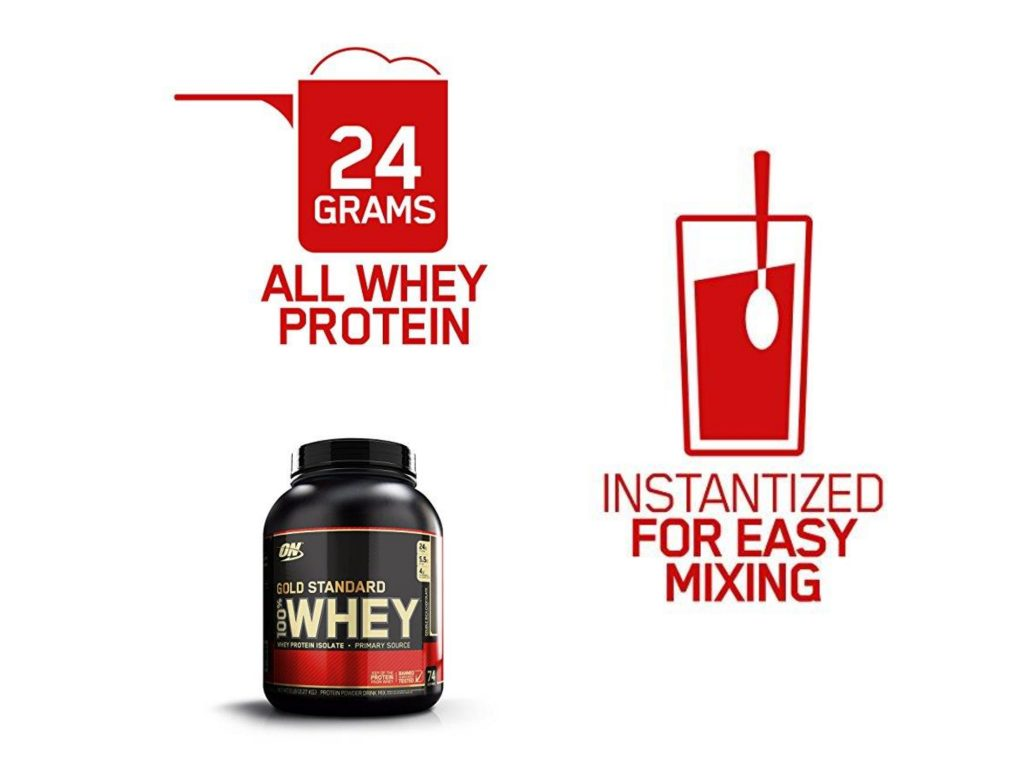 Gold standard whey protein side effects