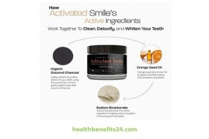 Activated Smile Natural Teeth Whitening Charcoal Powder