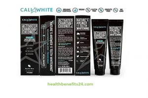 Cali White ACTIVATED CHARCOAL & ORGANIC COCONUT OIL