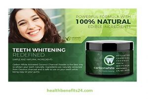 Carbonwhite Activated Charcoal Teeth Whitening | Best charcoal teeth whitening