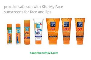 Kiss My Face Sunscreen Sensitive Side 3 in 1