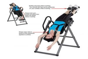 Innova Fitness ITX9800 Inversion Therapy Table