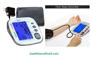 Touch Blood Pressure Monitor with AC Adapter | Best blood pressure monitor