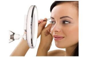 7x Magnifying Lighted Makeup Mirror | Best lighted makeup mirror
