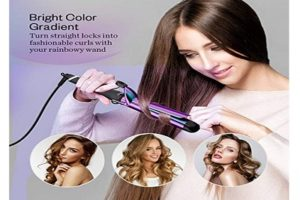 Anjou Curling Iron 1.25 inch with Titanium Finishing Techology