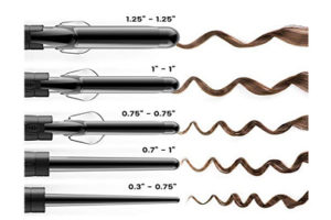 xtava 5 in 1 Professional Curling Wand and Curling Iron Set