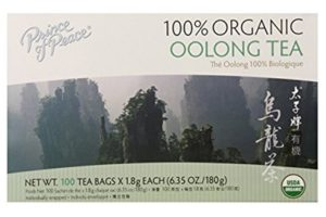 Prince of Peace Organic Tea, Oolong | Best Tea Brand in the world