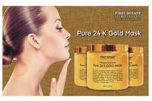 The BEST 24 K Gold Facial Mask