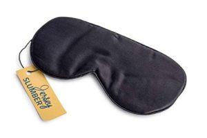 Jersey Slumber 100% Silk Sleep Mask For A Full Night's Sleep | Best sleep masks