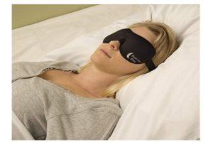 Sleep Mask by Bedtime Bliss - Contoured & Comfortable | Sleep masks